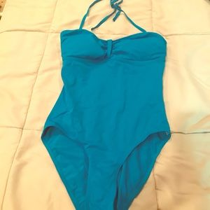 Other - Turquoise size 8 one piece bathing suit